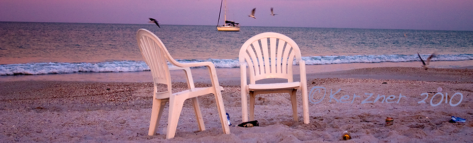 2 Chairs At Sunrise