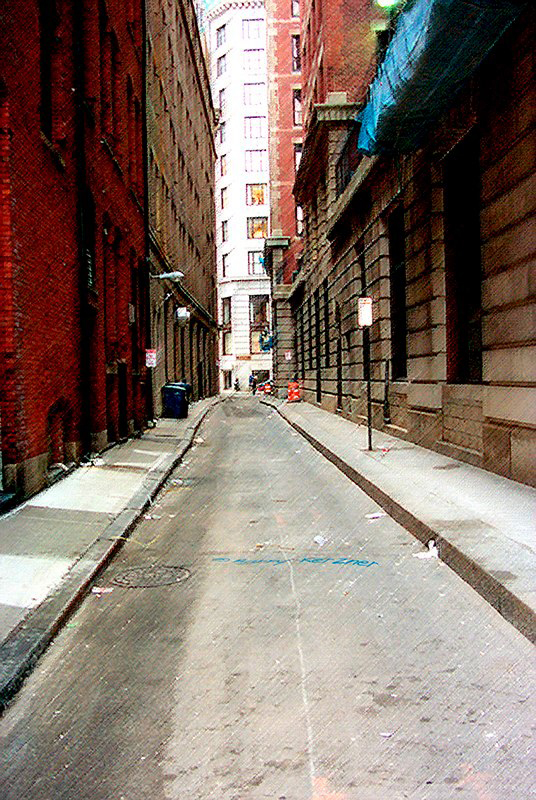 Boston Alleyway